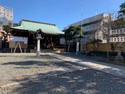 初詣(本門寺)